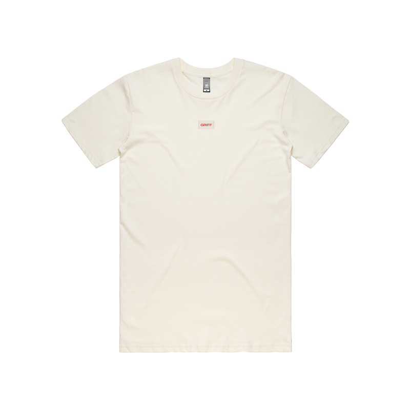 Griff Logo Label T-shirt Off-White