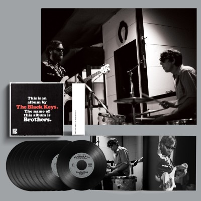 """The Black Keys   Brothers (Deluxe Remastered Anniversary Edition) (7"""" Vinyl Box Set)"""
