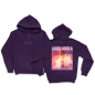 Pink Noise Album Cover Hoodie Purple (Apparel)