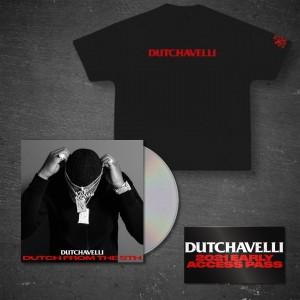 Dutch From The 5th CD + Black T-Shirt + Access Pass