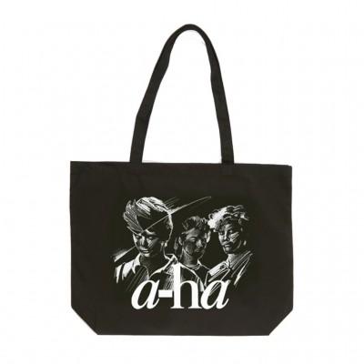 Sketch Tote Bag Black