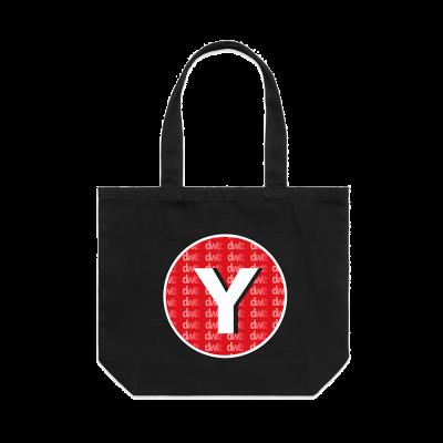 Yonaka Y Logo Shopper Bag