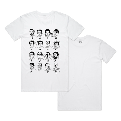 Tongue Singers T-shirt White
