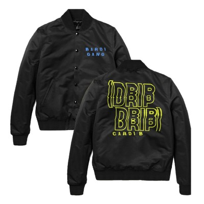 Drip Drip Bardi Gang Bomber Jacket