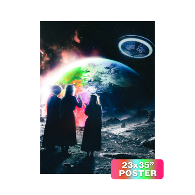 Eternal Atake Cover Art Felt Poster
