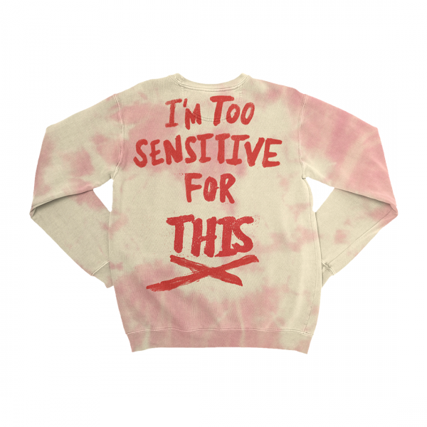 Album Type Natural Tie Dye Crewneck