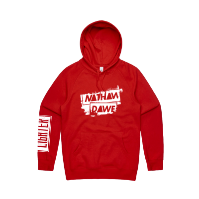 Nathan Dawe Red Pullover Hoodie