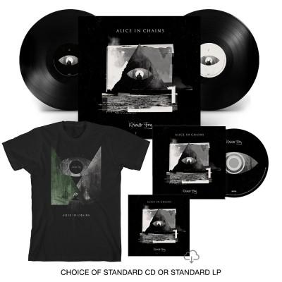 Rainier Fog CD or LP + T-Shirt Bundle