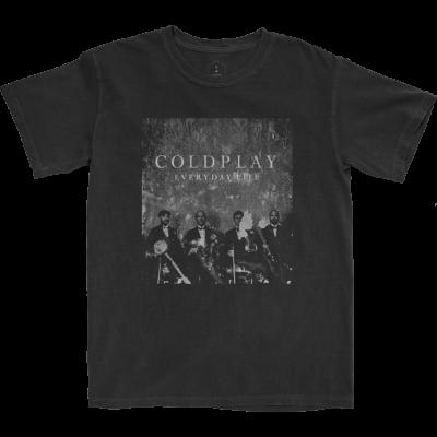 Everyday Life Black T-Shirt