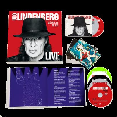 Stärker als die Zeit LIVE (Super Deluxe Box 4 CD / 2 BluRay / 1 DVD)