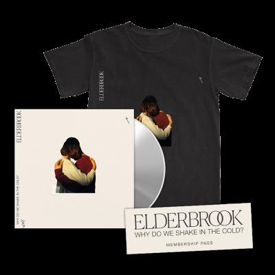 Why Do We Shake In The Cold? CD Album + T-Shirt + 2020 Membership Pass