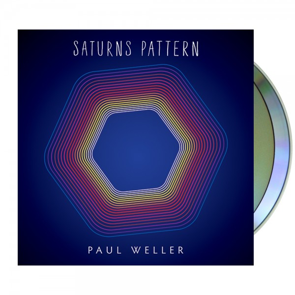 Saturns Pattern Deluxe CD/DVD