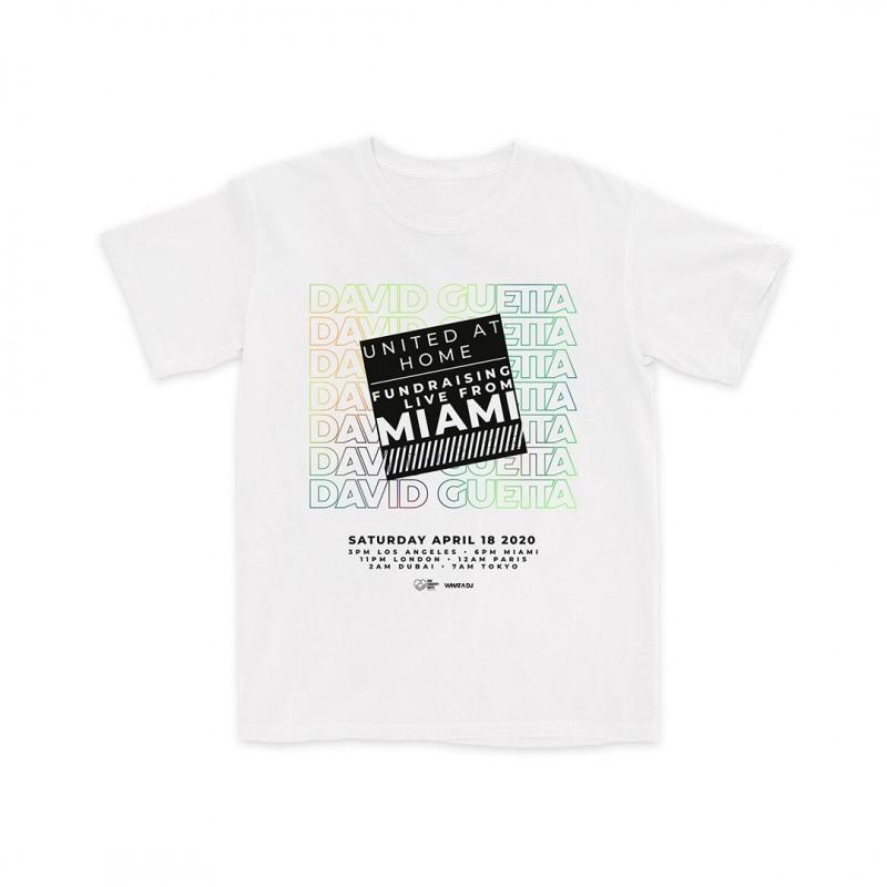 United At Home Miami White T-Shirt (Apparel)