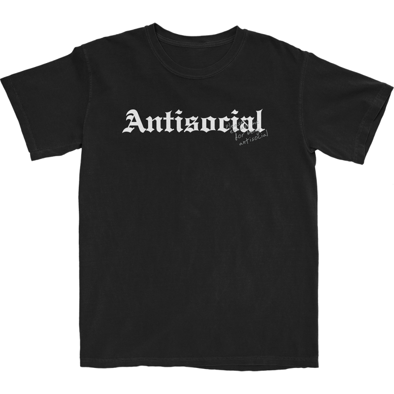 ANTISOCIAL T-SHIRT (BLACK)