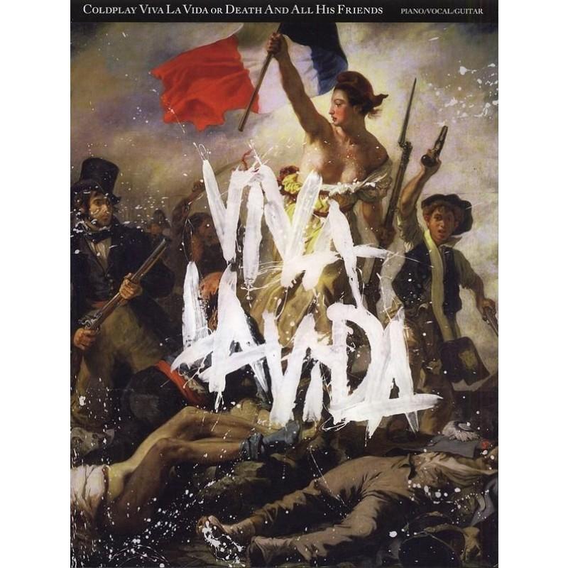 Viva La Vida or Death And All His Friends - Piano, Vocal and Guitar Songbook
