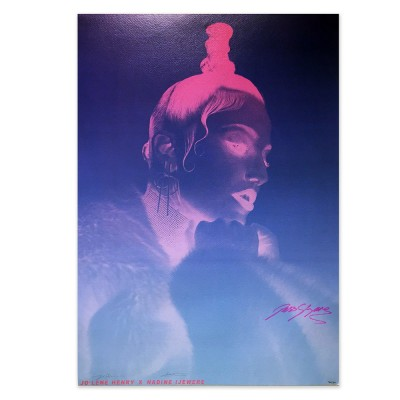 Jess Glynne - Signed Screen Print Poster