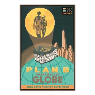 Plan B - Globe Event Screen Print - Limited Edition