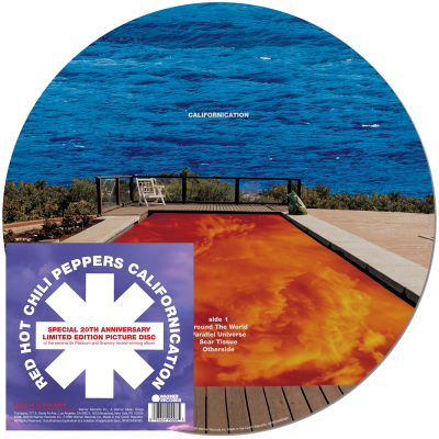 20TH ANNIVERSARY LIMITED CALIFORNICATION 2LP PICTURE DISC