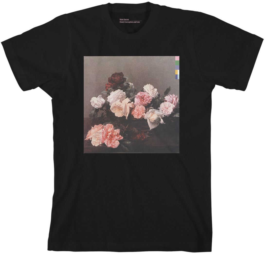 New Order POWER CORRUPTION AND LIES Black T Shirt Officially Liciensed